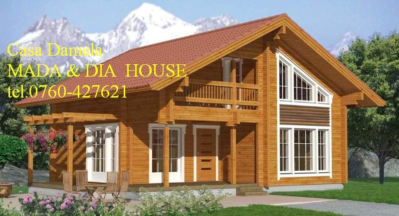 Case din lemn masiv casa daniela mada dia house s r l for Case din lemn pret 5000 euro