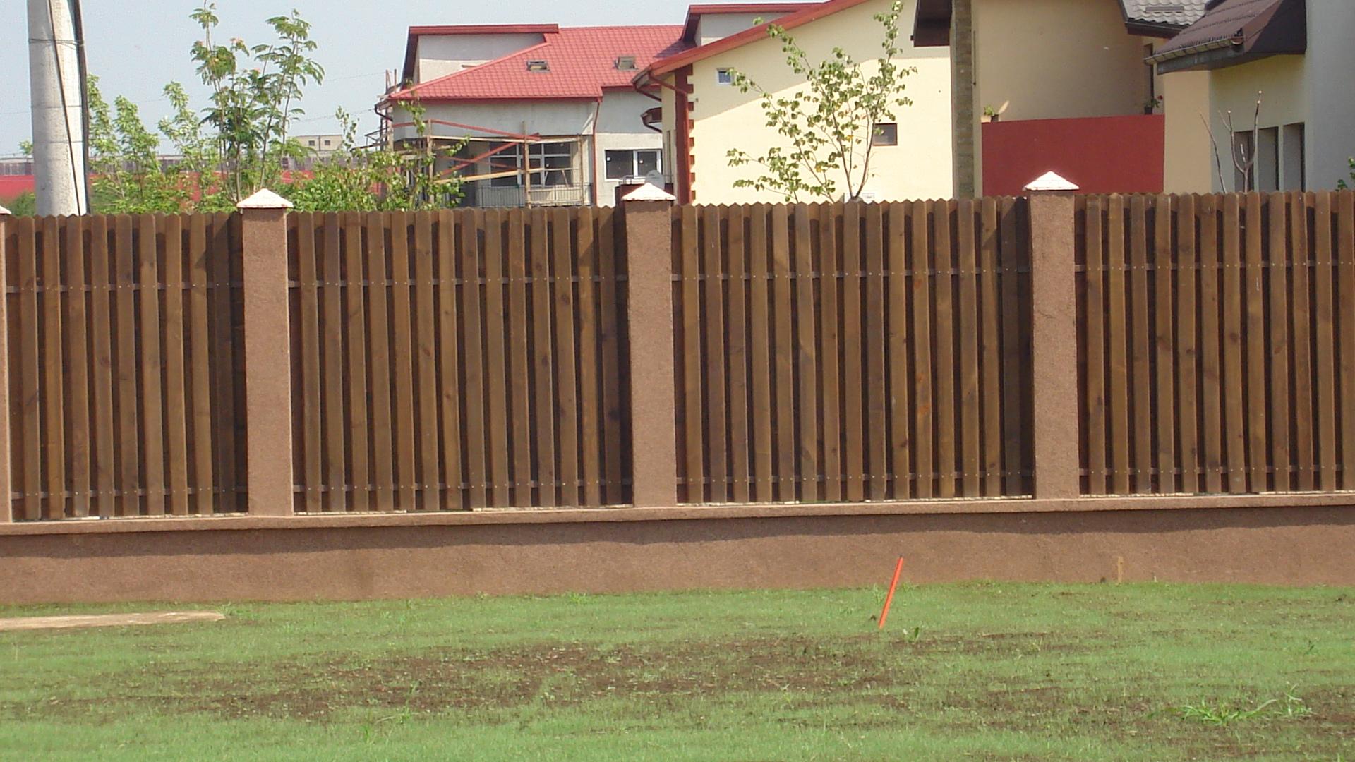 Gard Din Lemn Artwood Xxi S R L