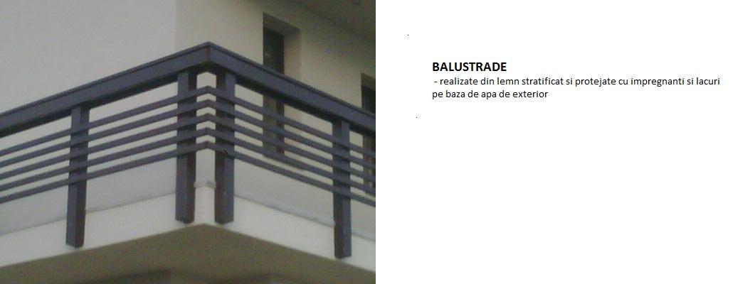 Balustrade balcon lemn stratificat foresta arges s a for Modele de balcon din lemn