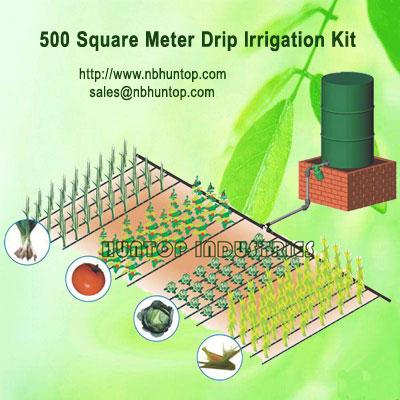 Gravity Drip Irrigation System Dripline Kit Huntop